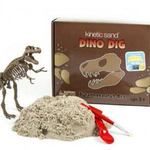 Kinetic Sand™ - kinetický písek - DINO objevitelské sady